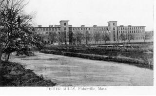 Fisherville Mill From the Canal