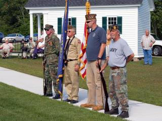 Mill Villages Park - Flag Day Ceremony - 2012