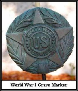 World War I Grave Marker
