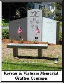 Korean and Vietnam Memorial Grafton Common