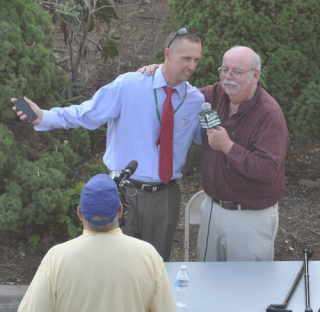 Tim McInerney (left) and Jim Gallagher (right)