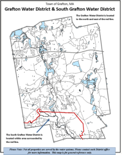 Water District Boundary Map