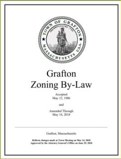 Grafton Zoning By-Law as Amended through Spring Town Meeting 2018