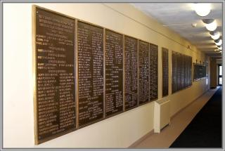 Roll Call of Those Who Served - Veterans Memorial Hall