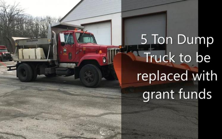 5 ton dump to be replaced